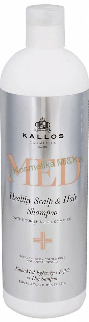 Kallos Med Healthy Scalp & Hair šampon 500 ml