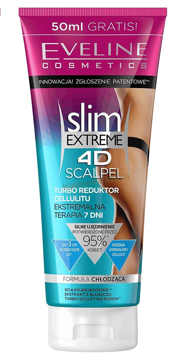 Slim Extreme 4D Scalpel Turbo - Eveline Cosmetics, cellulite reductor