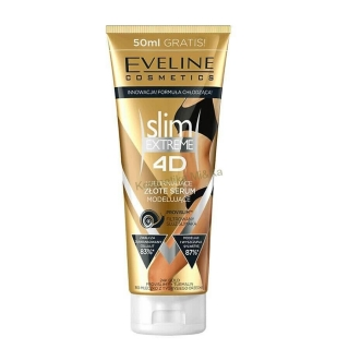 Slim Extreme 4D - Eveline Cosmetics, zlaté sérum 250ml