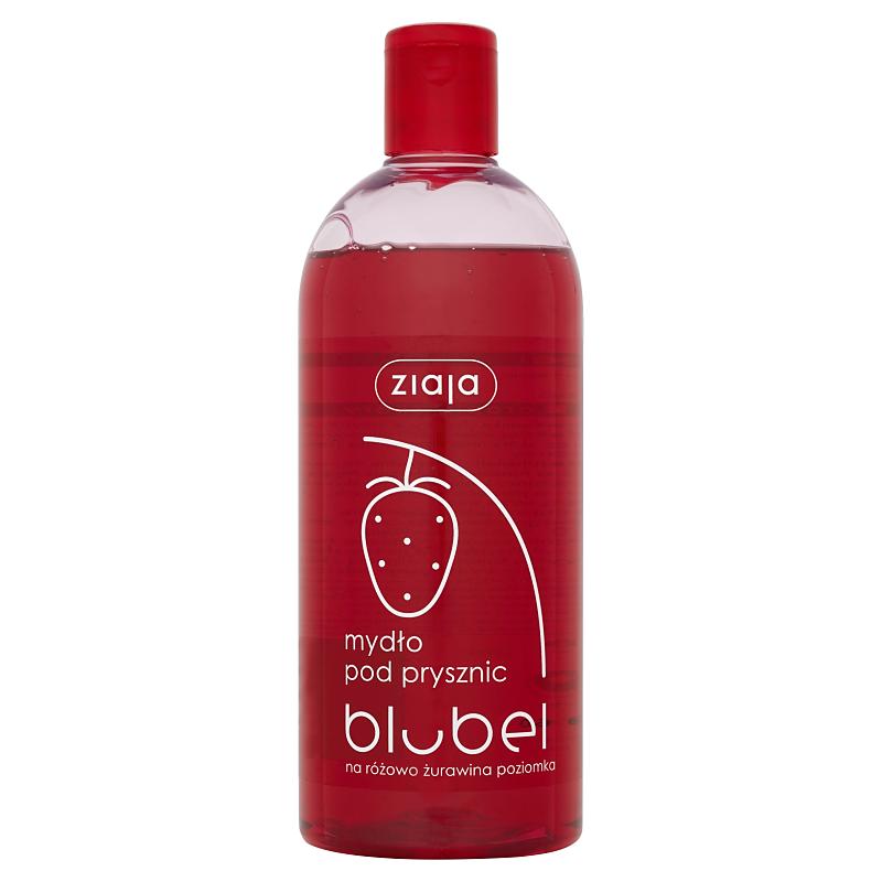 Ziaja Fruity sprchový gel brusinka & lesní jahoda 500 ml