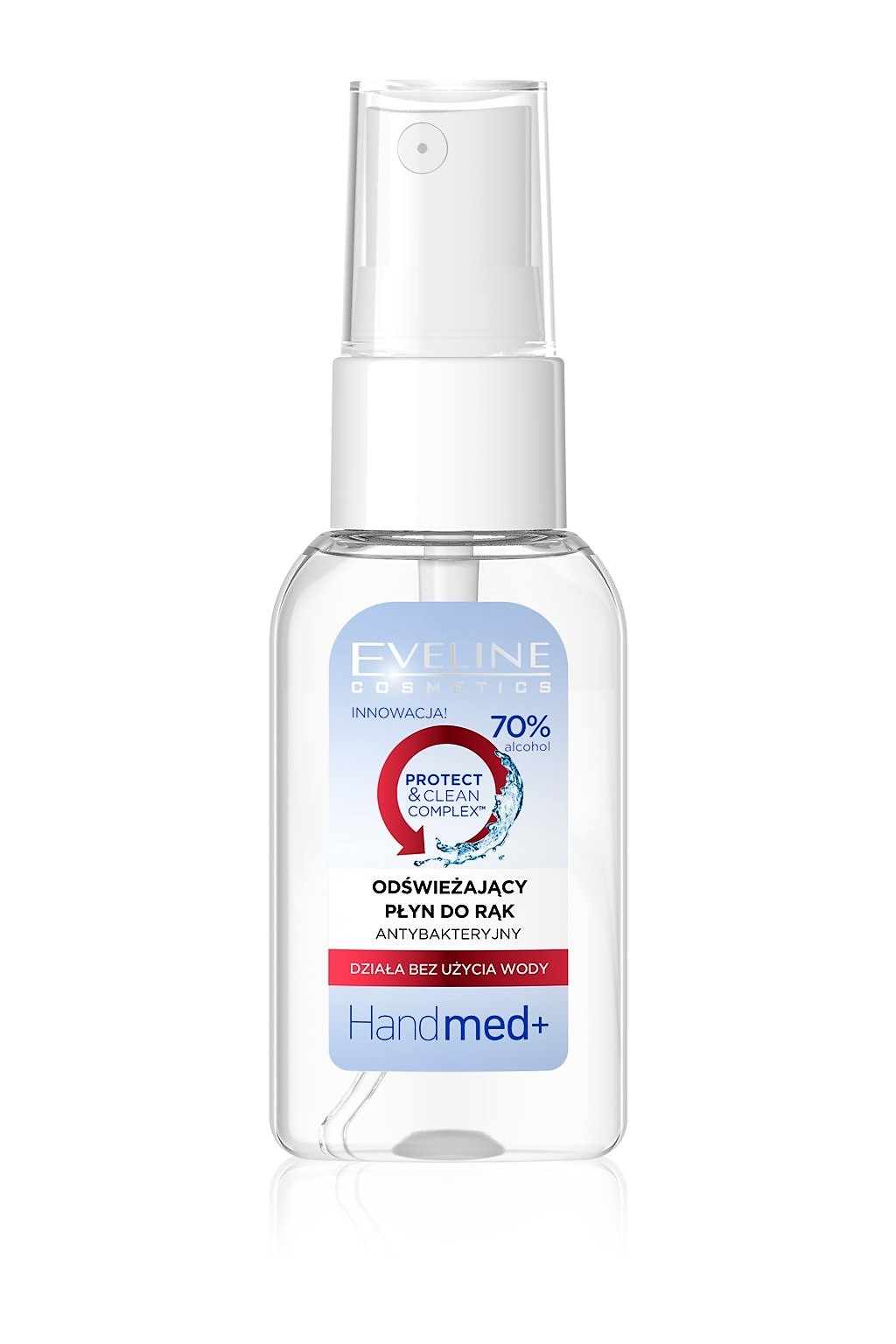 Eveline cosmetics Handmed+ Antibakteriální sprej na ruce 30 ml