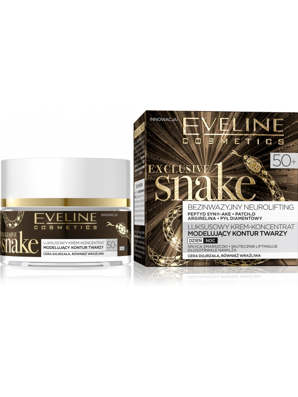 Eveline_Cosmetics_Snake_Hadi_Krem_proti_vraskam_50+_50_ml