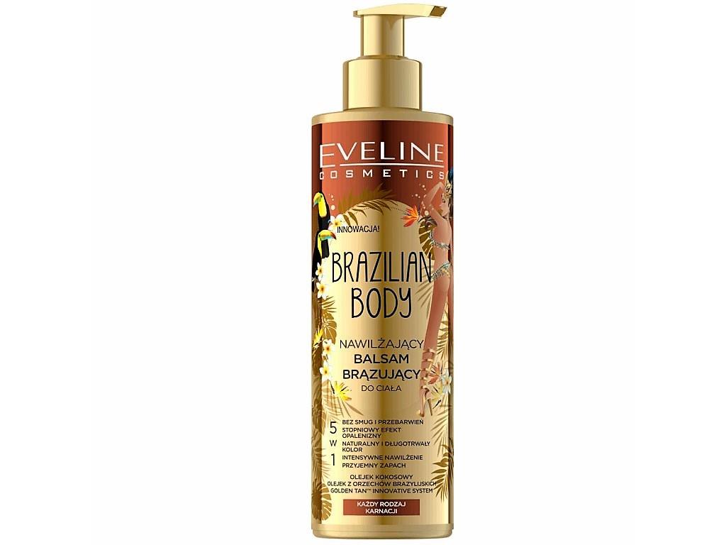 Eveline Cosmetics Brazilian body hydratační samoopalovací balzám na tělo 200 ml