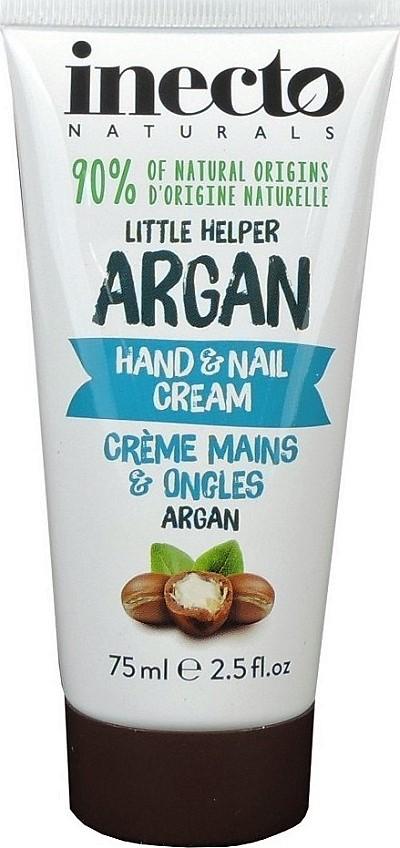Inecto Naturals - krém na ruce a nehty s čistým arganovým olejem 75 ml