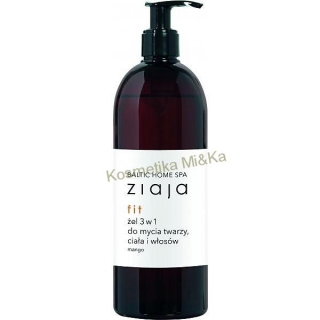 Ziaja Baltic Home Spa sprchový gel 3 v 1 500 ml