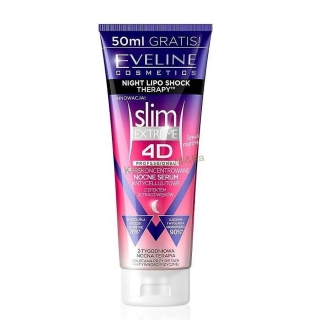 Slim Extreme 4D - Eveline Cosmetics, noční sérum 250ml
